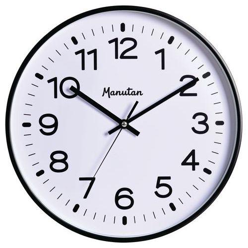 Analogové hodiny Q2 Manutan, autonomní quartz, průměr 32 cm