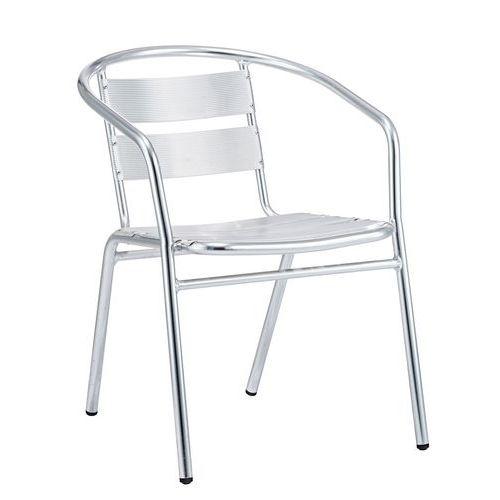 Kovová zahradní židle Manutan Cala