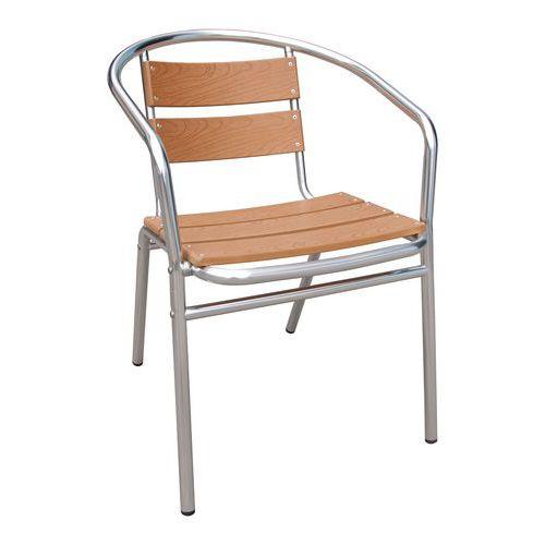 Kovová zahradní židle Manutan Thea