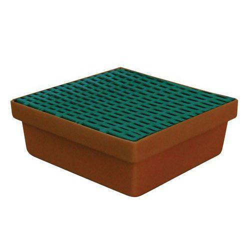 Plastové záchytné vany Manutan, kapacita 10 - 60 l