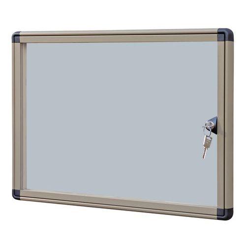 Magnetická vitrína Alcor Beige, jednokřídlá, 2 x A4