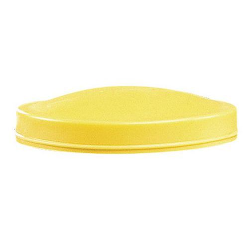 Klenuté víko na sudy, žluté