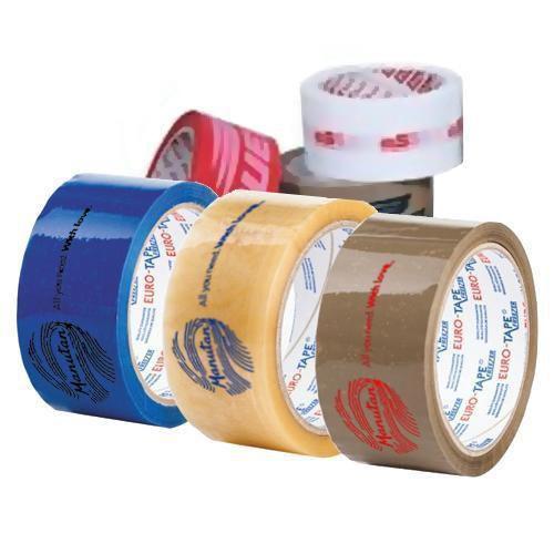 Lepicí pásky, jednobarevný tisk, šířka 50 mm, balení 108 ks