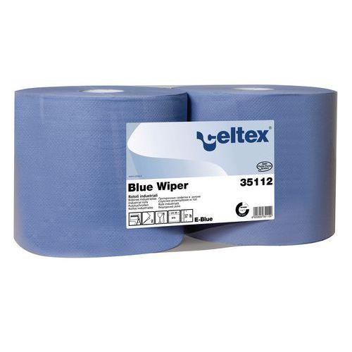 Průmyslové papírové utěrky Celtex Blue Wiper 2vrstvé, 970 útržků