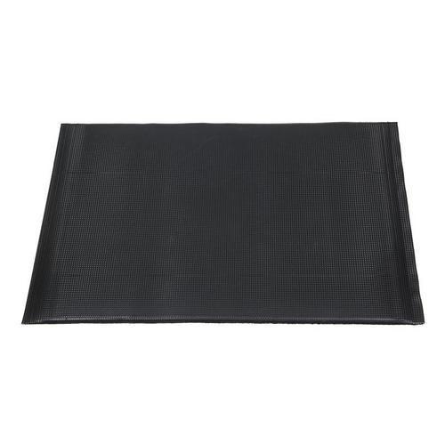 Protiúnavová průmyslová rohož s vroubkovaným povrchem, 90 x 60 c