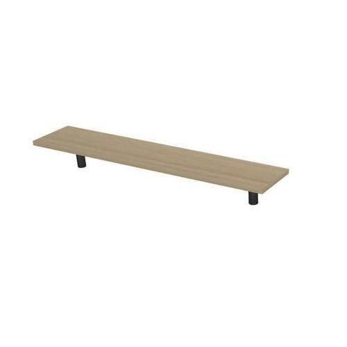Police na stůl Set 140, 120 x 30 x 20 cm, světlé dřevo