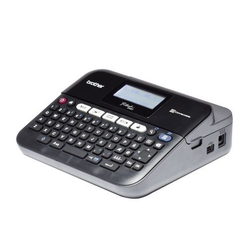 Tiskárna samolepicích štítků BROTHER, PT-D450VP, s kufrem