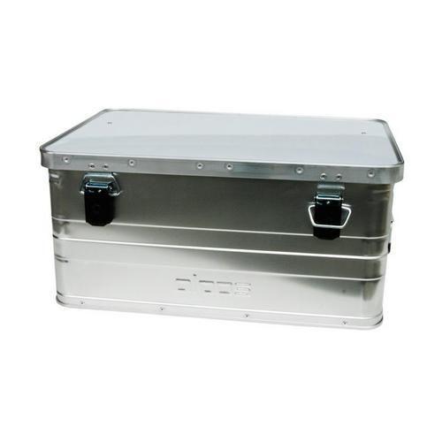 Hliníkový přepravní box, plech 0,8 mm, 47 l