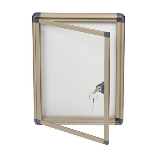 Magnetická vitrína Alcor Beige, jednokřídlá, 1 x A4