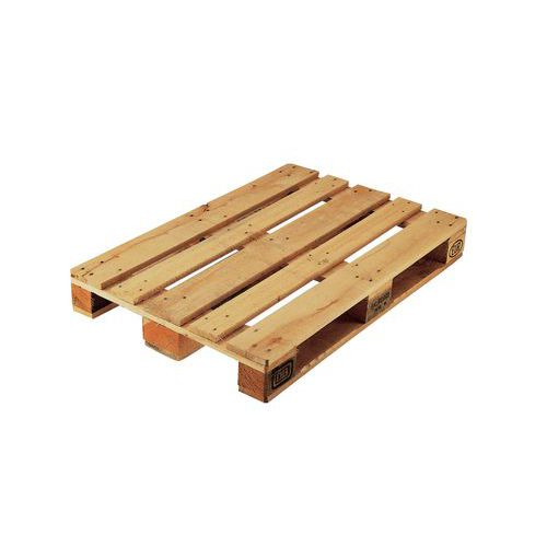Dřevěná paleta Euro, 14,4 x 120 x 80 cm