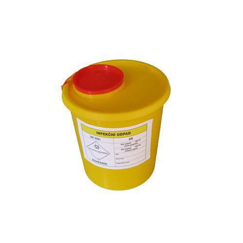 Nádoba na zdravotní odpad, malá, 1,5 l - Prodloužená záruka na 10 let