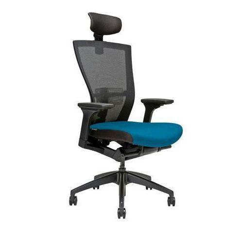 Kancelářská židle Merens, modrá - Prodloužená záruka na 10 let