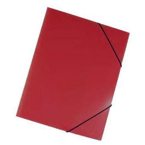 Plastové spisové desky Trio, 20 ks, červené