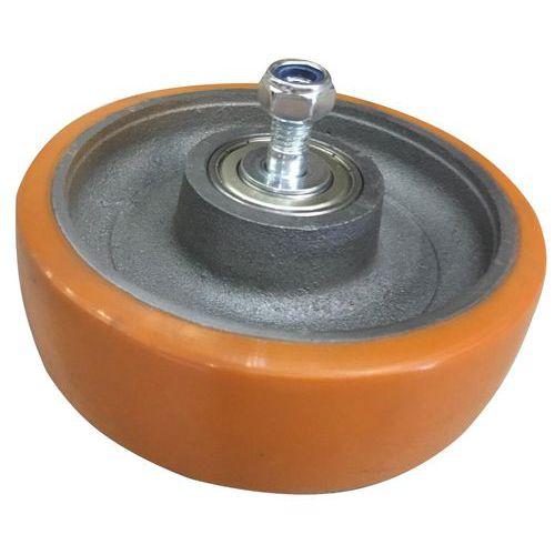Polyuretanové pojezdové kolo, průměr 160 mm, valivé ložisko