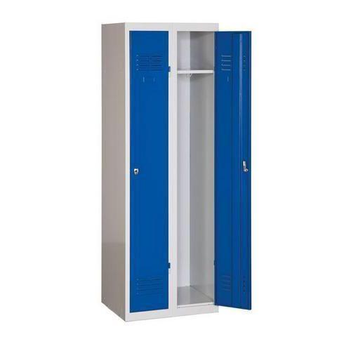Svařované šatní skříně DURO POP, 2 oddíly