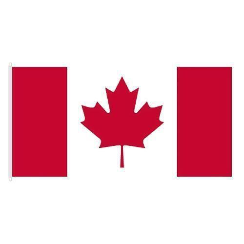 Státní vlajka, s karabinou, 150 x 100 cm, Kanada