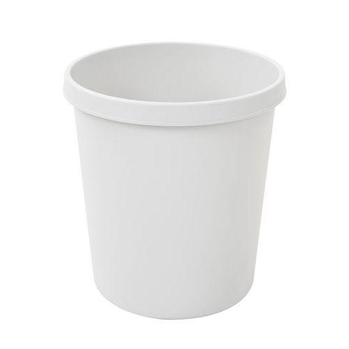 Plastový odpadkový koš Plastic, objem 18 l, šedý