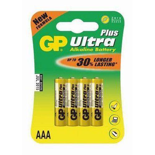 Baterie GP Ultra Plus Alkaline LR03 (AAA, mikrotužka)