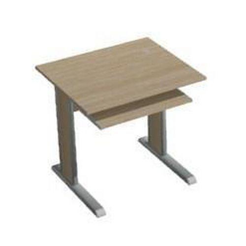 PC stůl Ergo s výsuvnou deskou pro klávesnici, 80 x 70 x 75 cm,