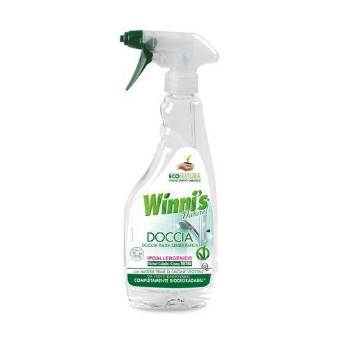 Ekologický čisticí prostředek na sprchové kouty Winnis Doccia, s rozprašovačem, 500 ml, 12 ks