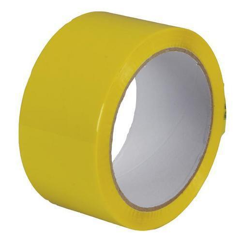 Lepicí páska, šířka 48 mm, žlutá