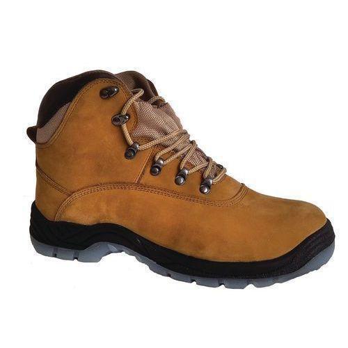 e767488e497 Pracovní kožené kotníkové boty Manutan s ocelovou špicí