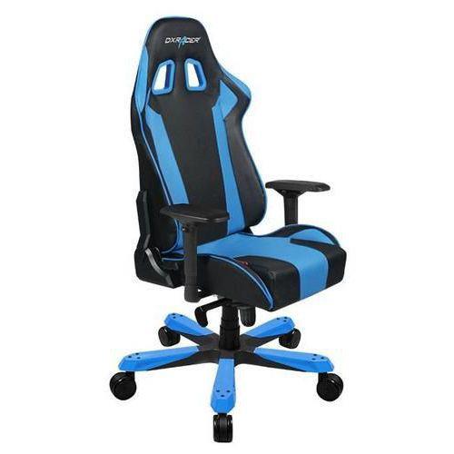 Kancelářská židle King, černá/modrá
