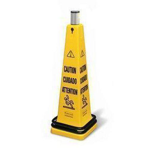Přenosný výstražný kužel Rubbermaid Safety Cone s rolovací pásko