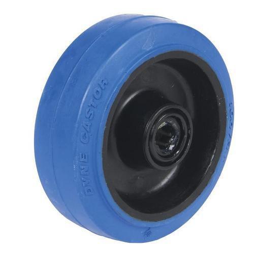 Gumové pojezdové kolo, průměr 100 mm, valivé ložisko