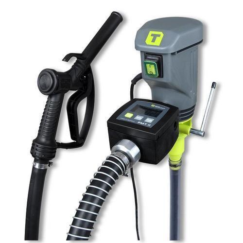 Elektrické sudové čerpadlo s průtokoměrem pro výdej nafty