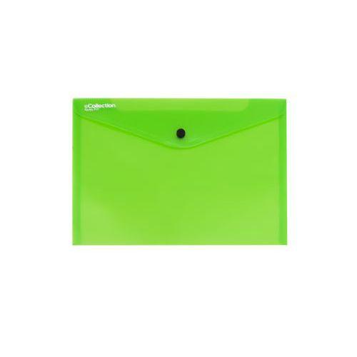 Plastové spisové desky Quick na cvok, 10 ks, zelené