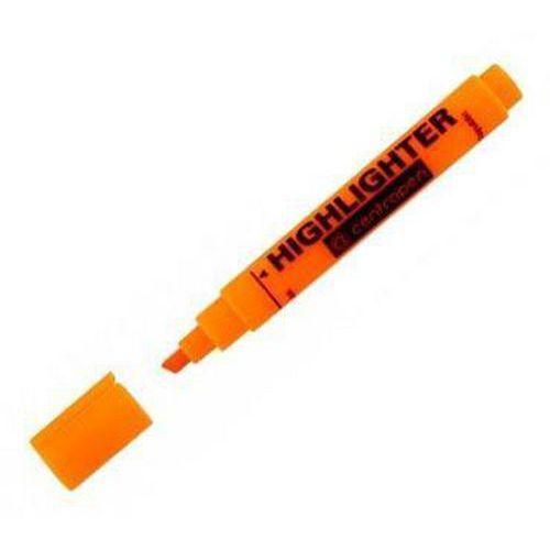 Zvýrazňovač Centropen 8852, 10 ks, oranžová