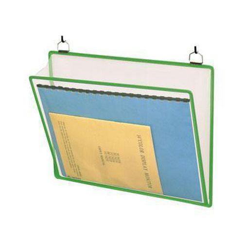 Informační rámečk Tarifold A4, se dvěma oky, zelený
