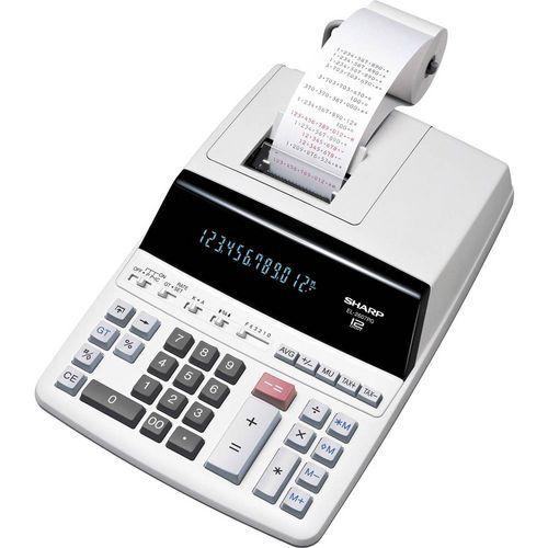 Stolní kalkulačka s dvoubarevným tiskem Sharp EL-2607PG-GY