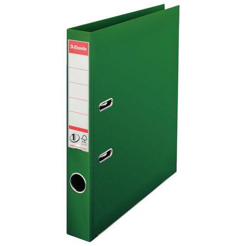 Pákový pořadač Esselte Lux, 20 ks, šířka 50 mm, zelený