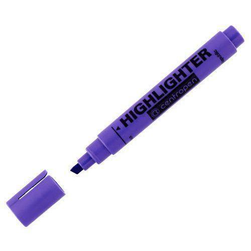 Zvýrazňovač Centropen 8852, 10 ks, fialová
