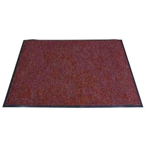 Vnitřní čisticí rohož s náběhovou hranou, 120 x 90 cm, vínová