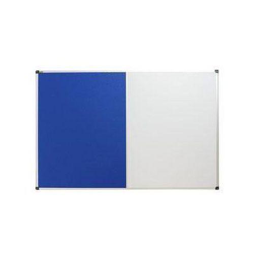 Textilní a magnetická tabule Bi-Office, 60 x 90 cm