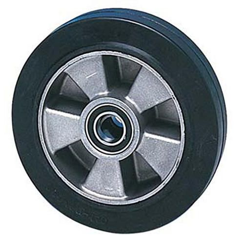 Gumové pojezdové kolo, průměr 180 mm, valivé ložisko