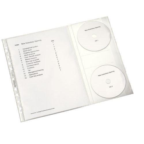 Obal závěsný U Combo, A4, 120 mic, navíc 2 kapsy na CD, 5 ks