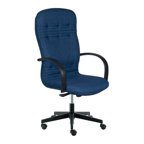 Kancelářské křeslo Dynamic, modrá - Prodloužená záruka na 10 let