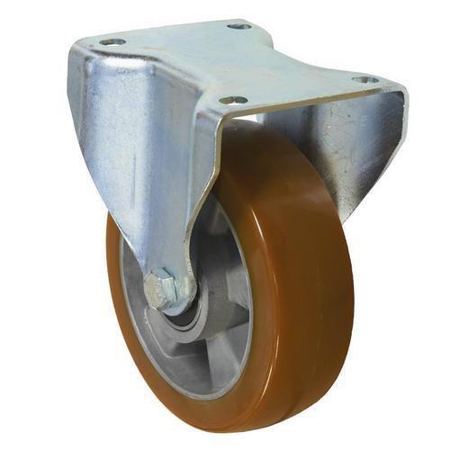 Polyuretanové transportní kolo s přírubou, průměr 160 mm, valivé