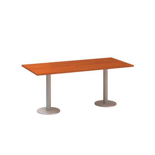 Konferenční stůl Alfa 400, 180 x 80 x 74,2 cm, dezén třešeň