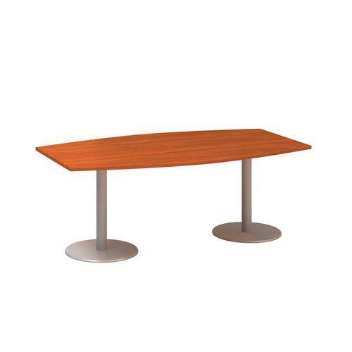 Alfa Office Konferenční stůl Alfa 400, 200 x 110 x 74,2 cm, dezén třešeň - Prodloužená záruka na 10 let