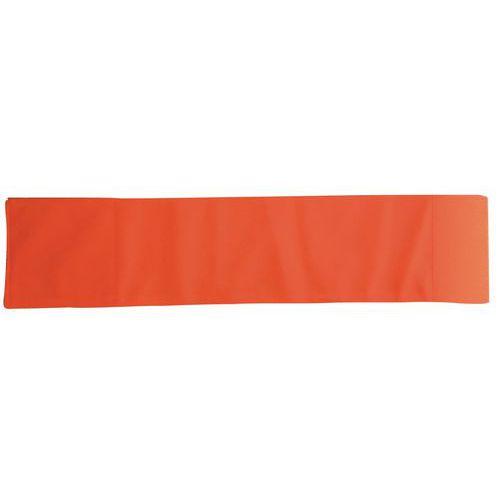 Reflexní páska na suchý zip, reflexní oranžová