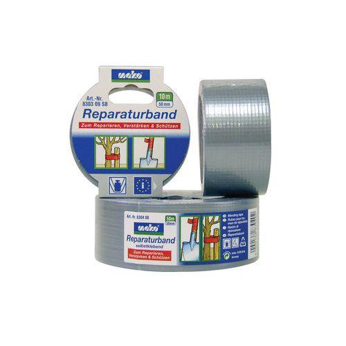 Stříbrná tkaná páska na opravy