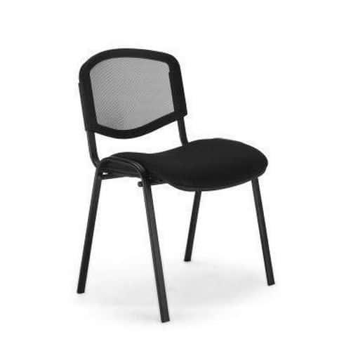 Konferenční židle ISO Mesh, černá