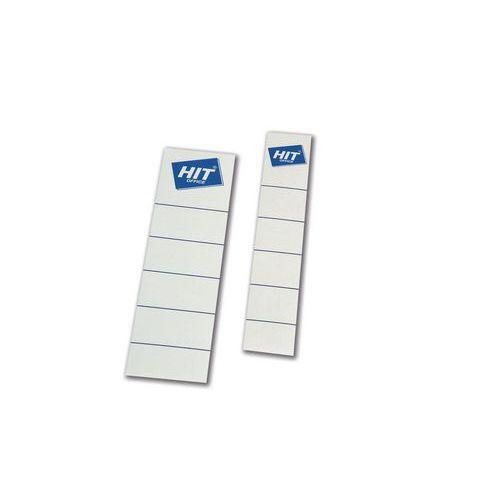 Vsuvné štítky na pořadače, 50 ks, šířka 50 mm