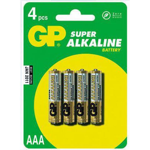 Baterie GP Ultra Plus Alkaline AAA 4ks