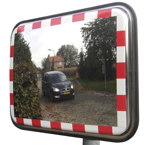 Dopravní obdélníkové zrcadlo ANTIFREEZE, 450 x 600 mm